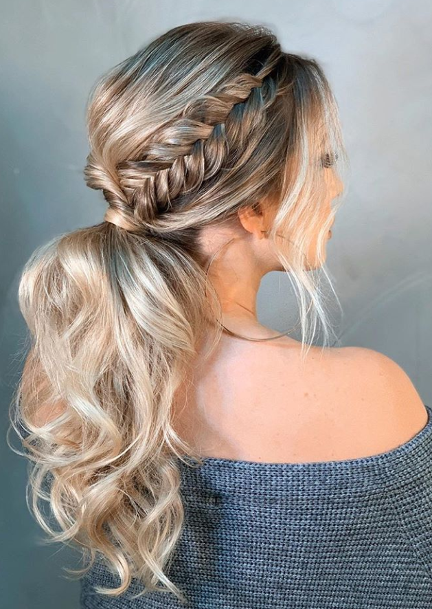 Hottest Cost-Free Ponytail hairstyles fancy Tips Summertime is just ab
