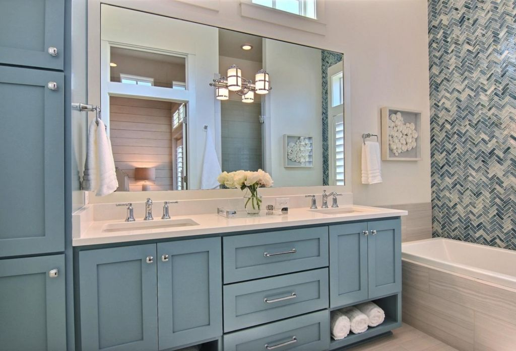 Butter Lutz Interiors Blue Bathroom Vanity Bathroom Inspiration Colors Blue Bathroom