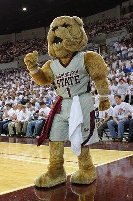 Ranking The 20 Best Mascots In College Basketball Mascot Mississippi State Bulldogs Mississippi State