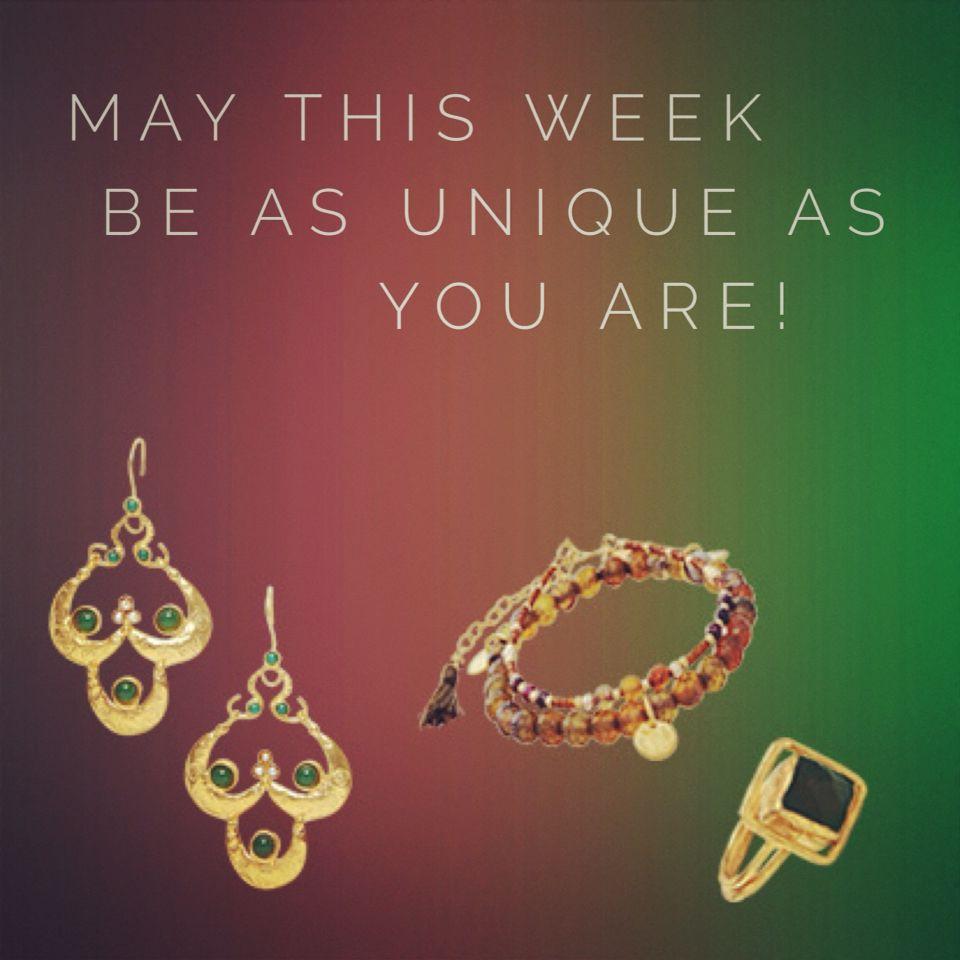 Mix & Match ideas! Happy Monday! #bankelok #fashionjewelry #fashionearrings #fashionrings #fashionbracelets #chic #exclusive