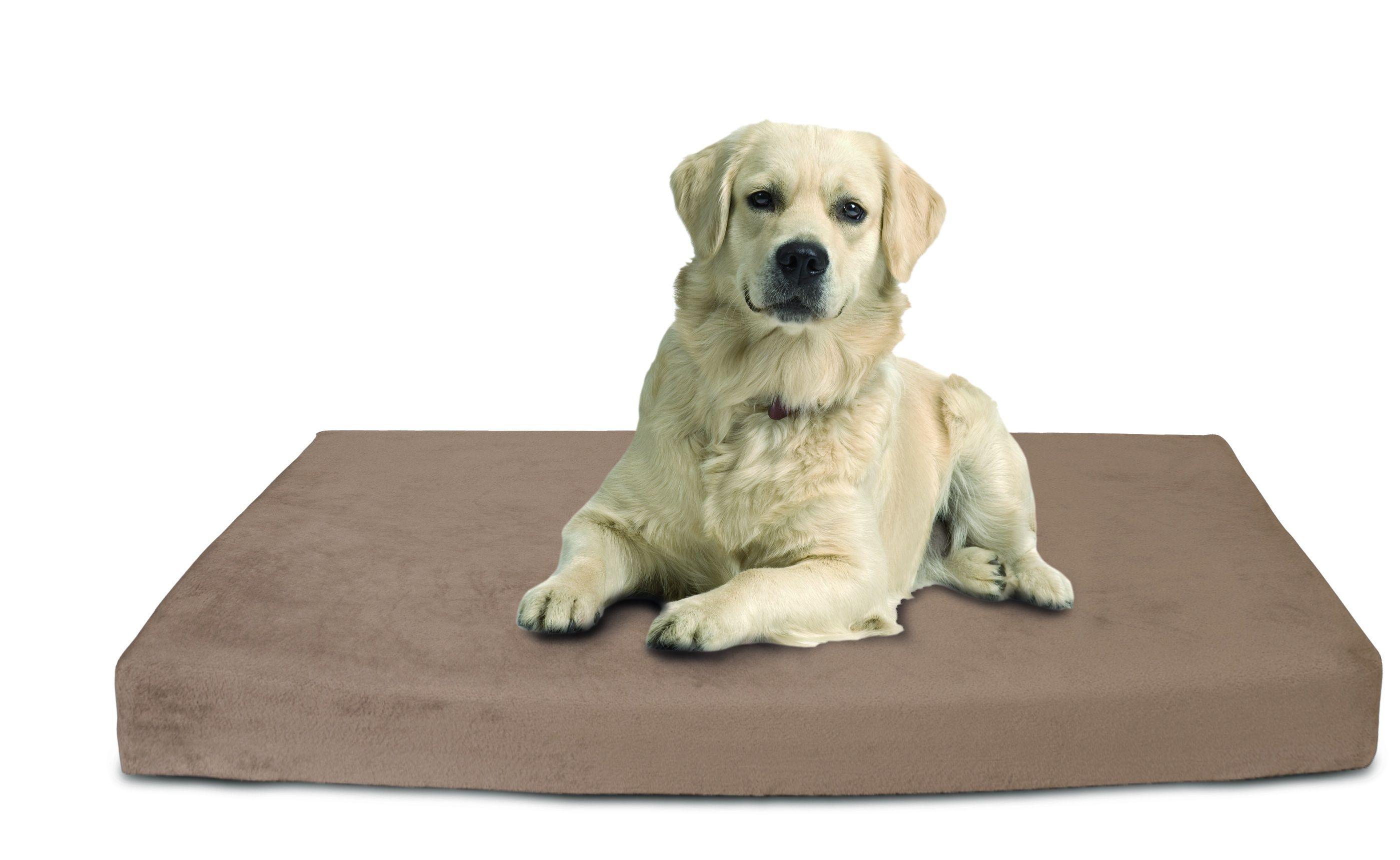 dog bed, memory foam dog mattress with neodymium