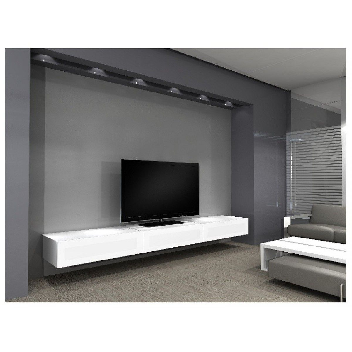 Grand Meuble Tv Design Pin De Asia Orzelek En ściana Tv En 2019 Tv Cabinets Tv