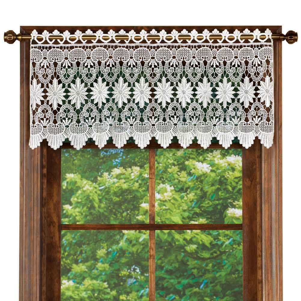 Home Window Toppers Macrame Curtain Curtains