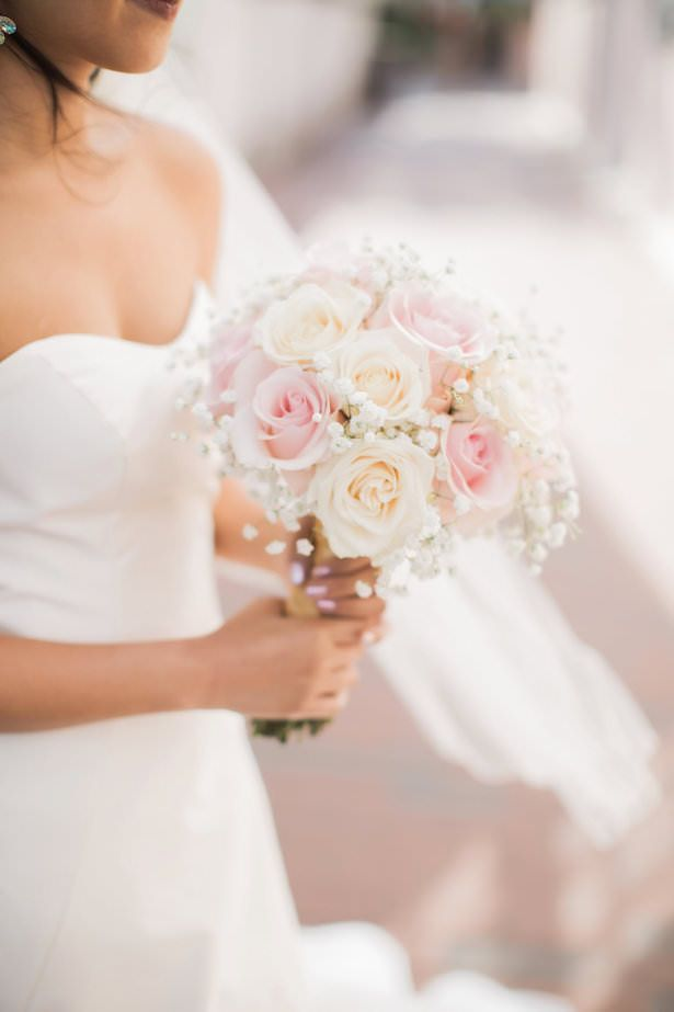 Glamour and Feminine Details for a Beautiful Pastel Wedding - Belle The Magazine