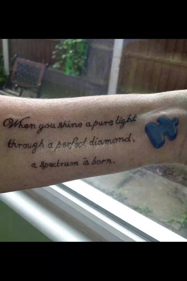 This Is The Only Tattoo I Have Liked And Ever Will Like Autism
