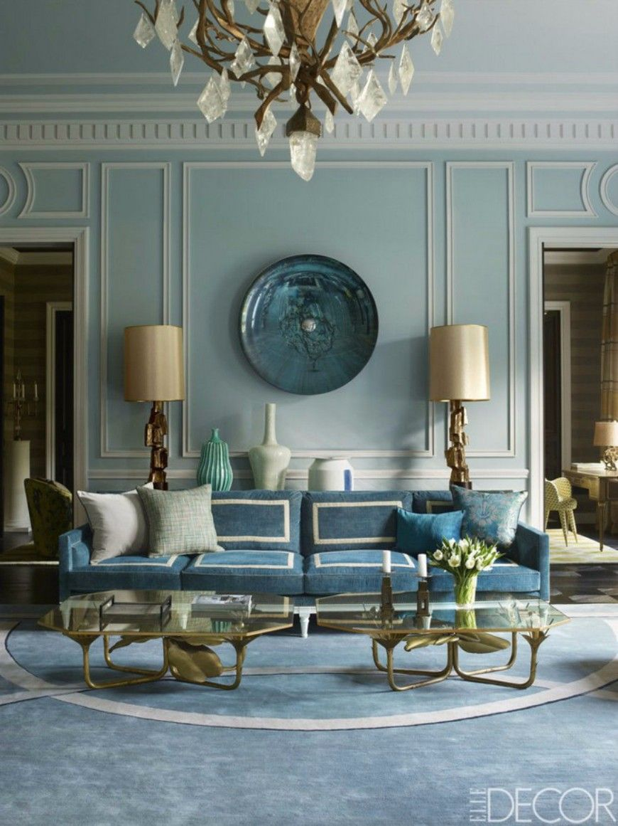 Samt sofa wohnzimmer ideen schöner wohnen haus sessel blau wohnzimmer blaue zimmer blau interieur moderne inneneinrichtung