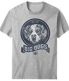 'Obey The Dog' graphic tee #bigdogs