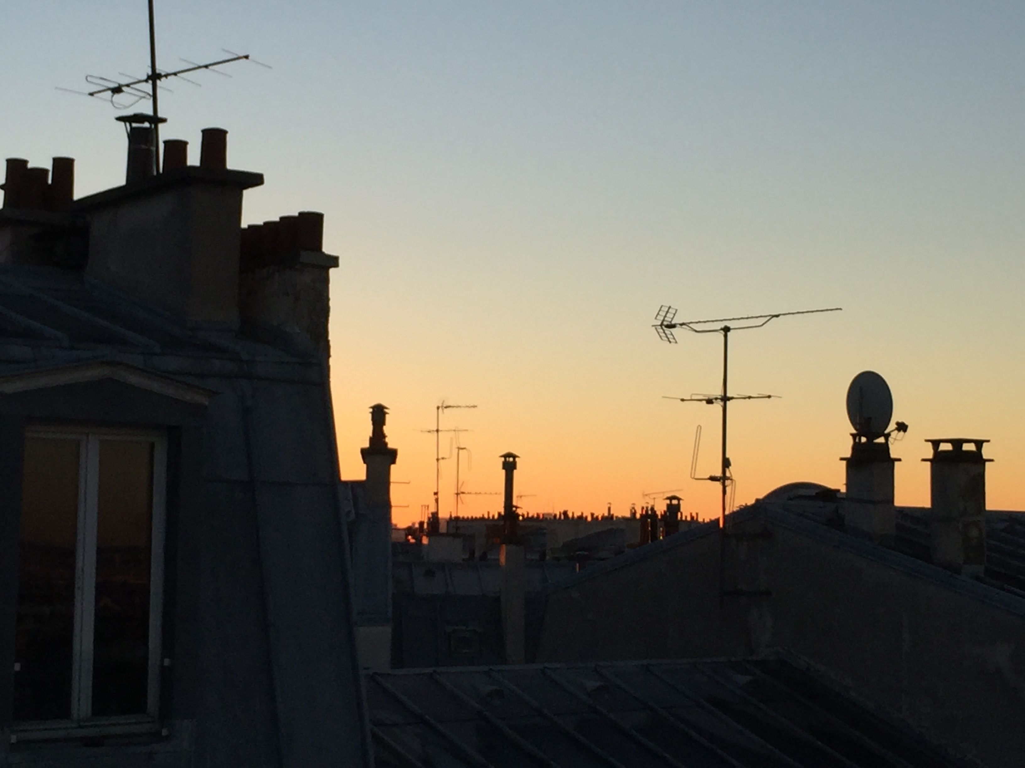 Rooftop Sunrise, Montmartre Arrondissement, Paris, France