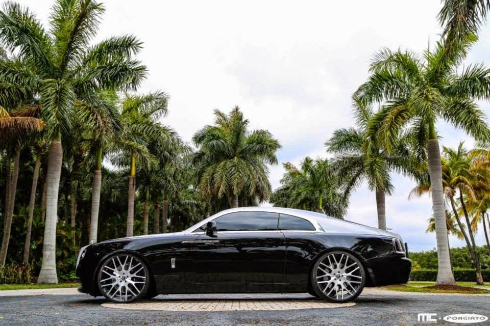 RollsRoyce Wraith on Wheels by MC Customs