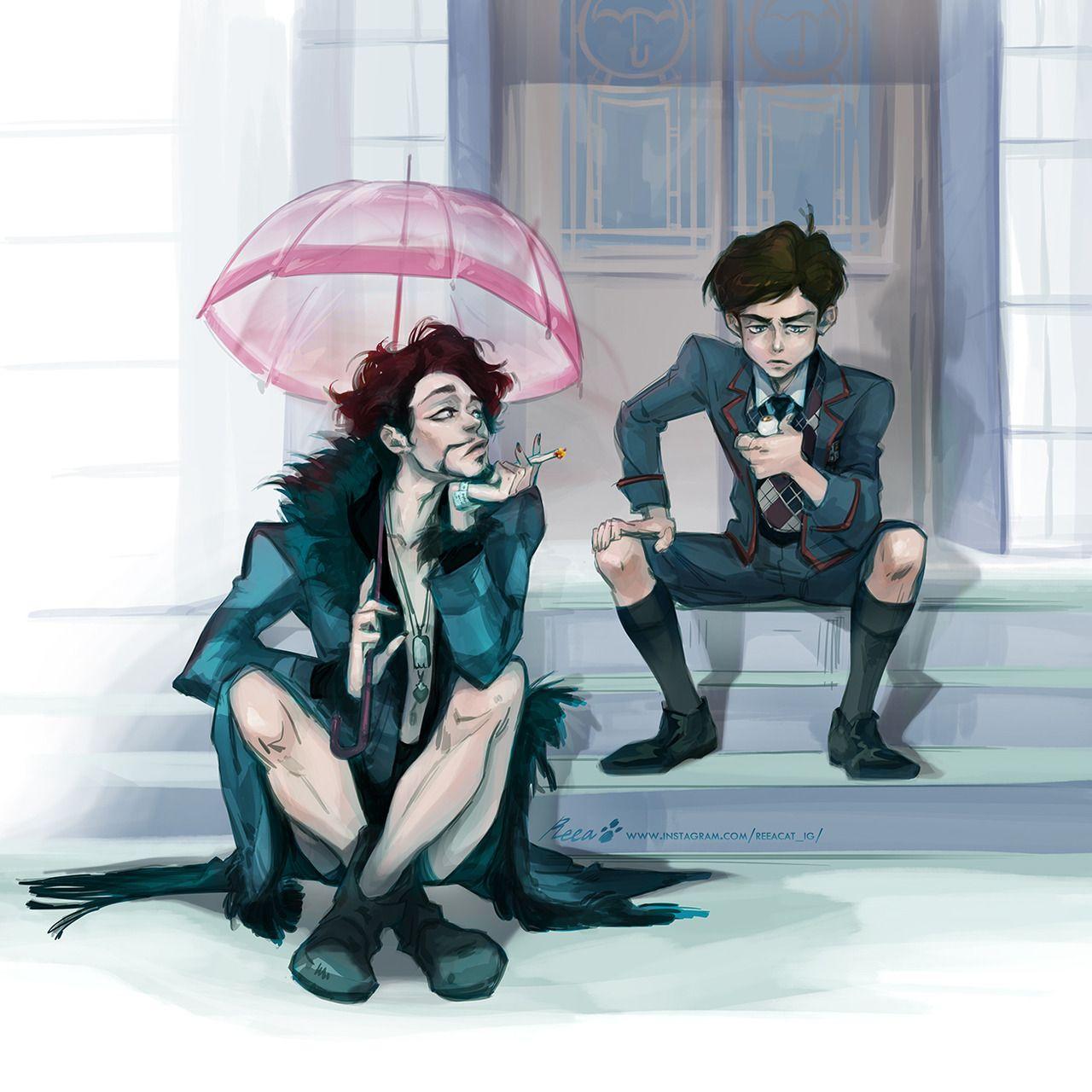 Give Klaus His 20 Bucks You Coward Under My Umbrella