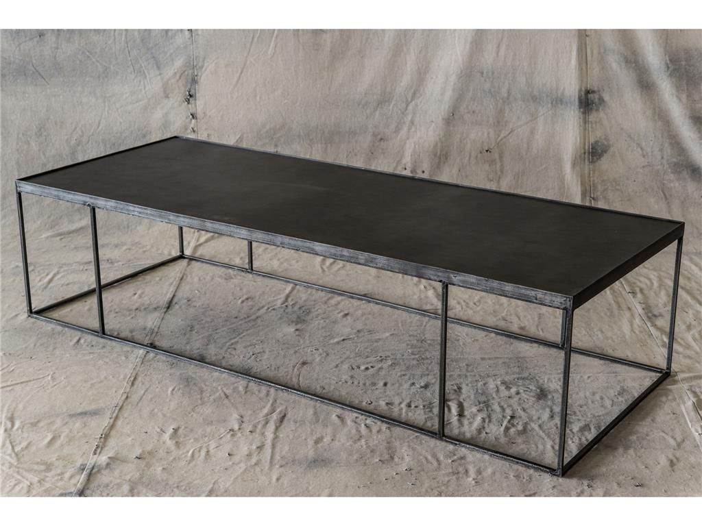 Four Hands Long Steel Table ISD0028 1272 (With images