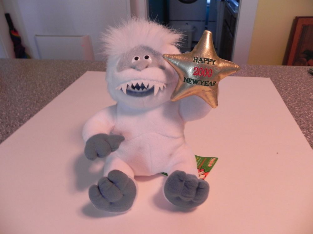 RUDOLPH'S ABOMINABLE SNOWMAN PLUSH HAPPY 2000 NEW YEAR