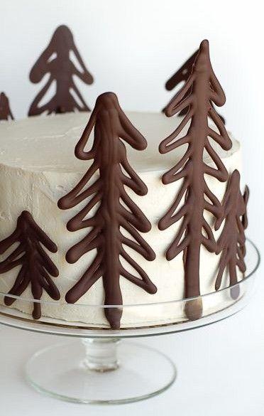 alberi di cioccolato!!!