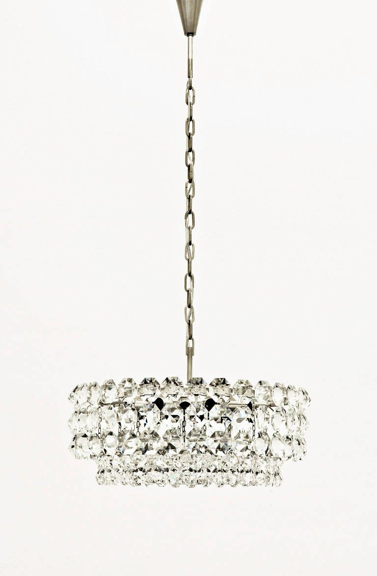 Marvelous Large Austrian Crystal Chandelier By Bakalowits And Sohne