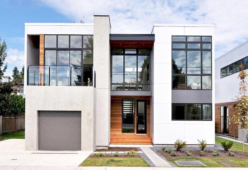 Gu a casas modulares 2 plantas precios lujo arquitecto for Casas prefabricadas minimalistas