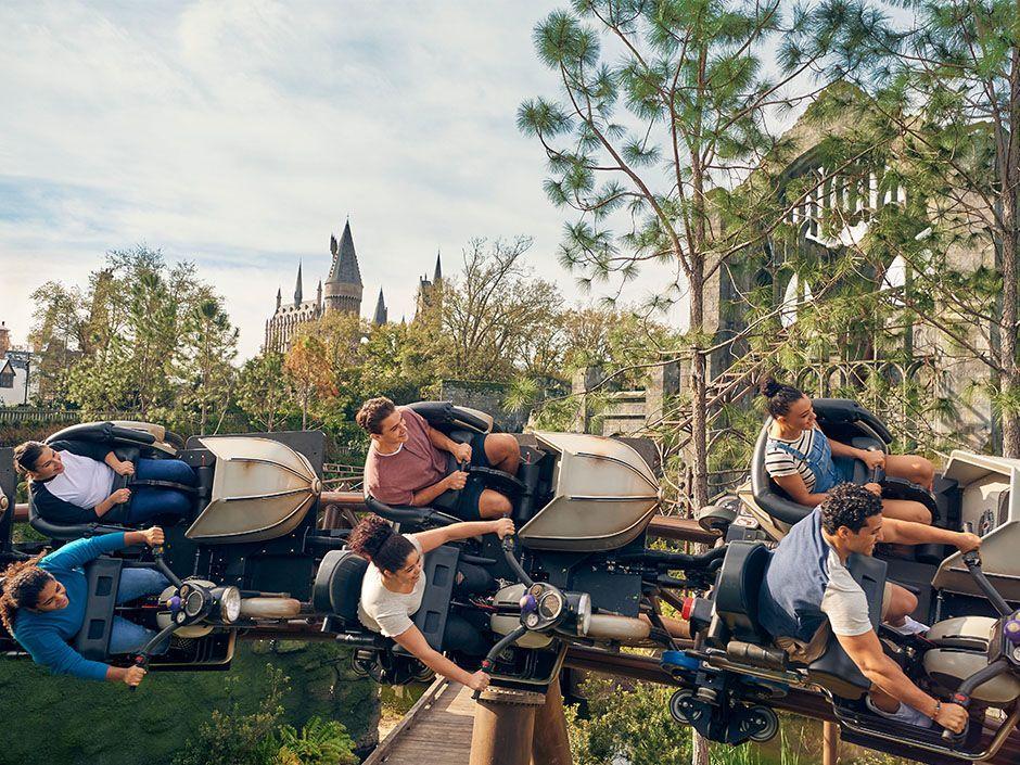 Guide To Hagrid S Magical Creatures Motorbike Adventure At Universal Islands Of Adventure Universal Orlando Resort Orlando Resorts