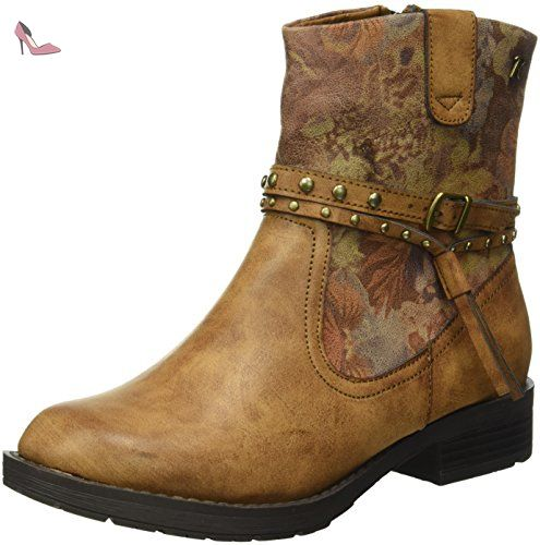 62258, Bottines Non Doublées Femme - Marron - Marron (Camel), 39 EURefresh