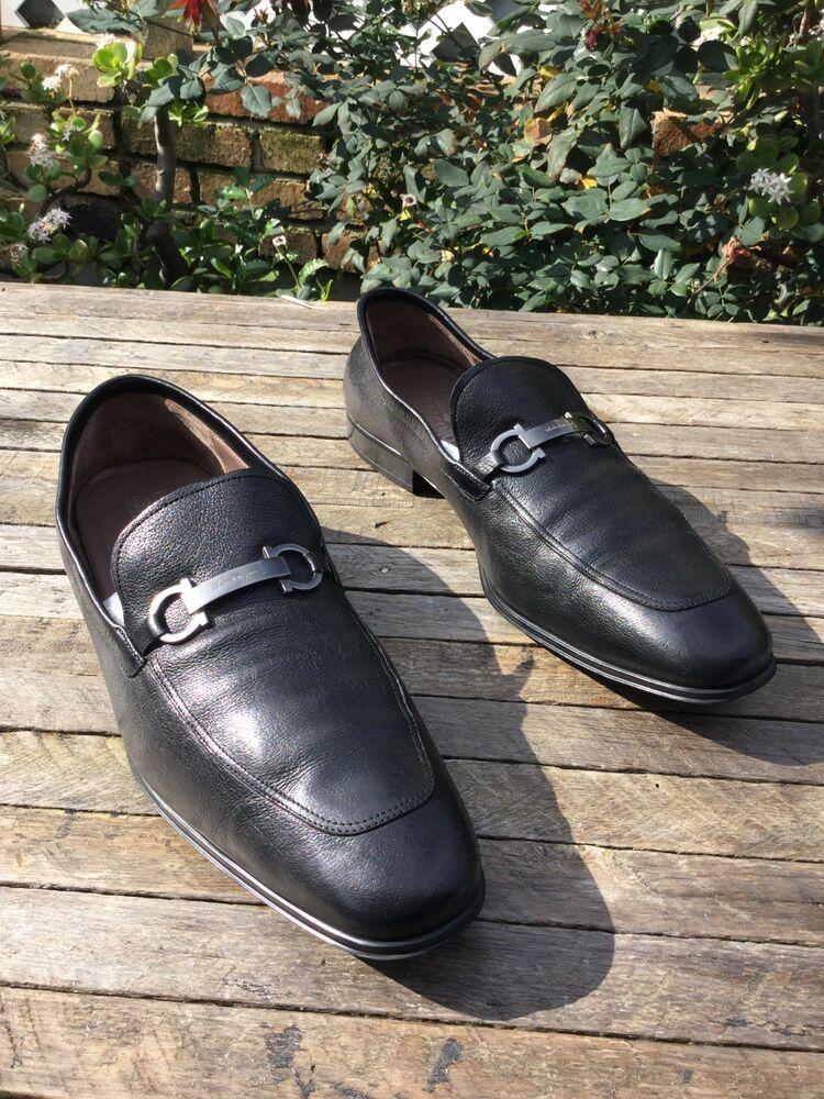 595 salvatore ferragamo apron toe loafer shoes