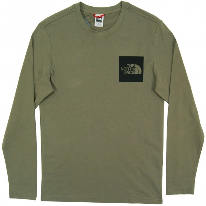 d45e2bde0 The North Face The North Face Long Sleeve Fine T-Shirt | TNF Deep ...