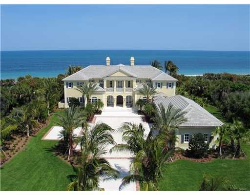 vero beach waterfront home vero beach oceanfront homes vero rh pinterest com