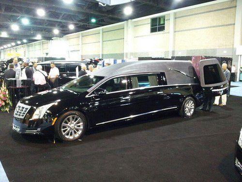 2013 Cadillac XTS hearse by CasketCoach on Flickr.