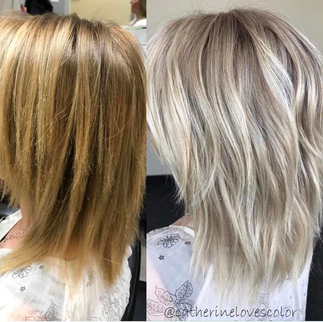 adorable blonde de la cendre coiffures - Élégant, la couleur des