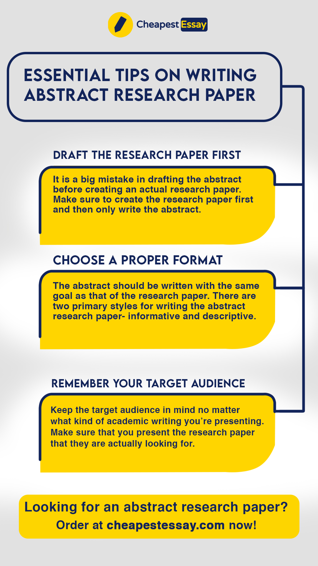 Essential Tip On Writing Abstract Research Paper In 2020 Service Writer For A Pdf How To Write Apa Format 6th Edition History