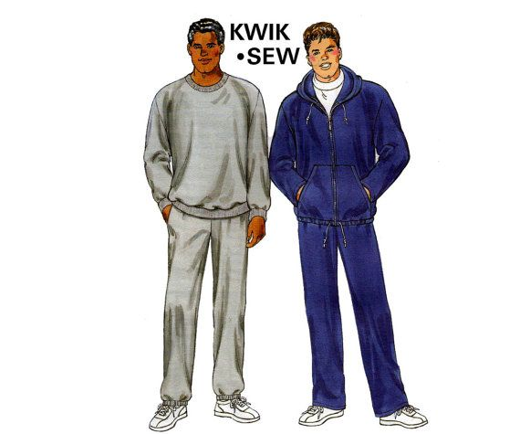 80s Mens Tracksuit Jogging Suit Pattern by allthepreciousthings ...