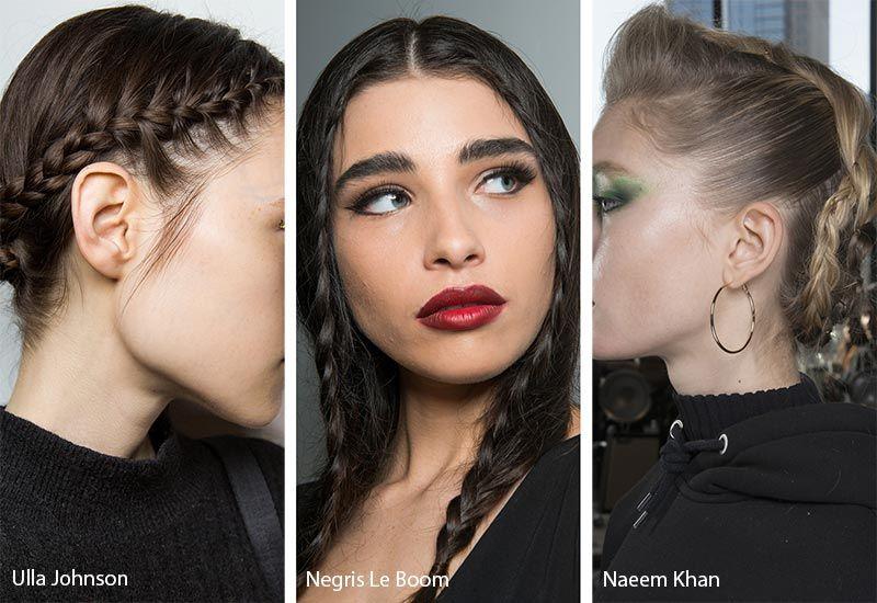 Fall Winter 2018 2019 Hairstyle Trends Hair Trends Runway Hair Work Hairstyles
