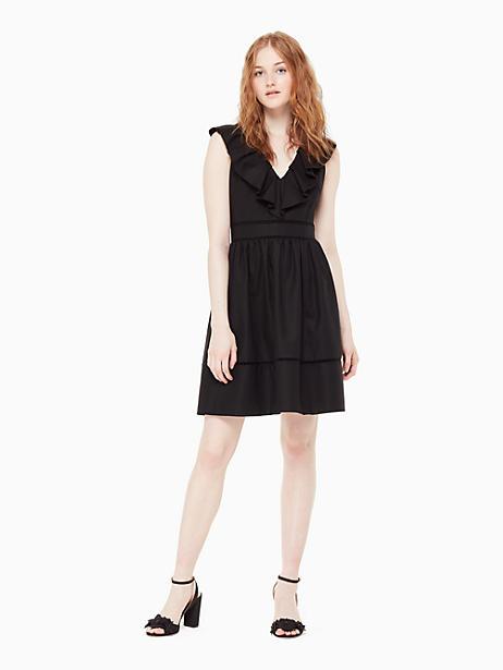 41a9d4cf4a9 Kate Spade Ruffle Neck Dress