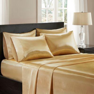 -SUPER KING Jasmine Silk Pure Silk Fitted Sheet Grey