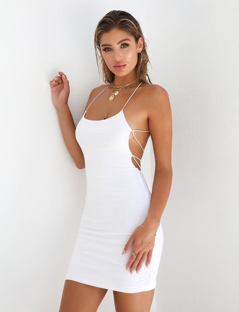 8f01e1072349 Open Back Mini Dress - Tamiko – Beachside Bunny | G in 2019 ...