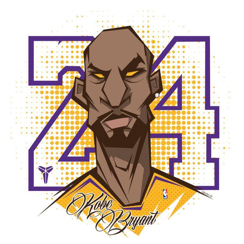 Kobe Bryant by funky23 on deviantART Kobe bryant, Kobe