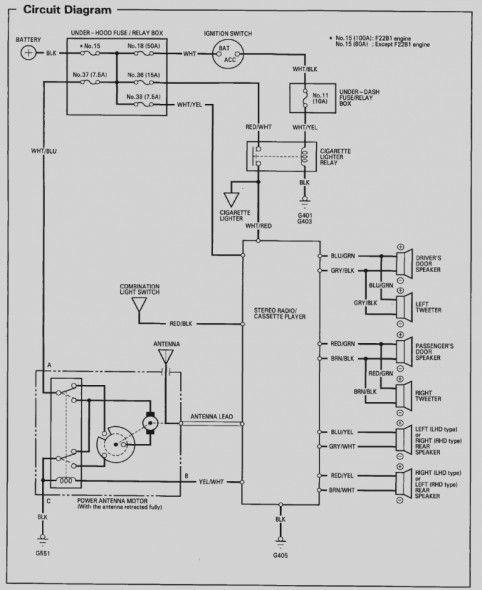 Honda Odyssey Wiring Diagram, 97 Civic Wiring Diagram Stereo