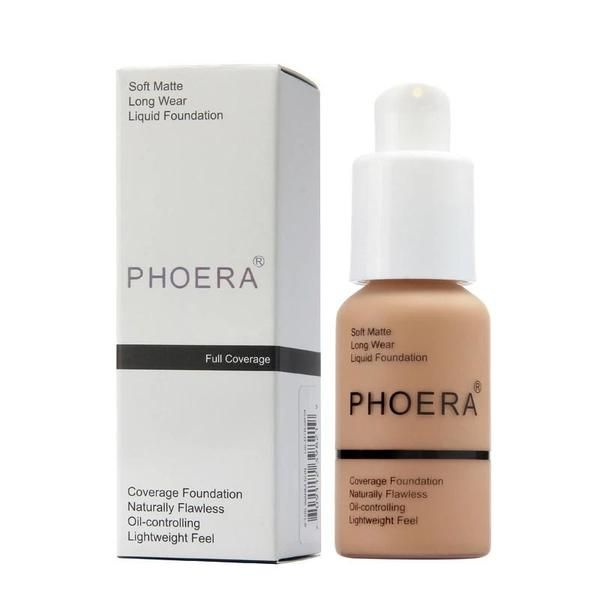 bf58230f632 PHOERA Soft Matte Liquid Foundation in 2019 | beauty products ...