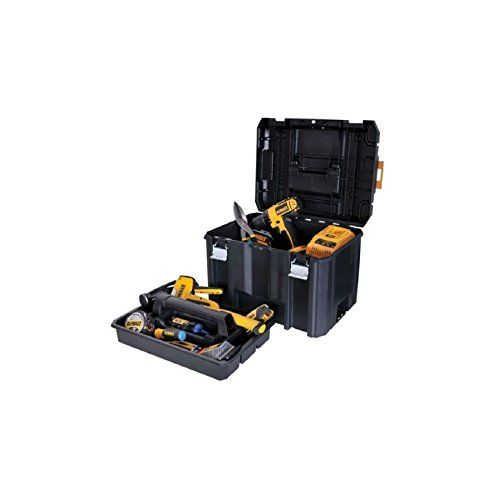 Toolbox Deep Box Dewalt Portable Organizer Garage Tool Storage Case Tray  Supply_by_creative_touch *** Check