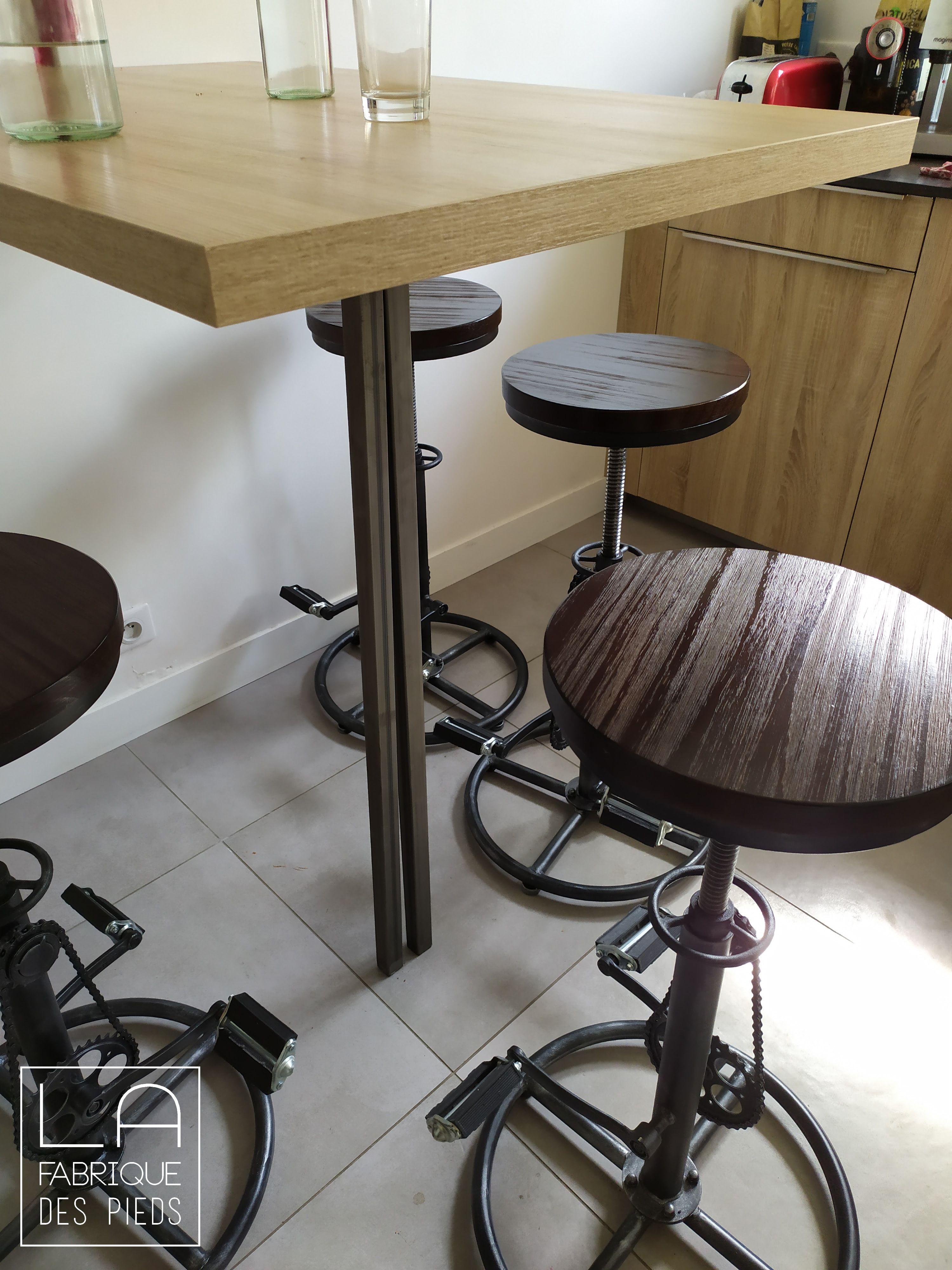 table haute la fabrique des pieds