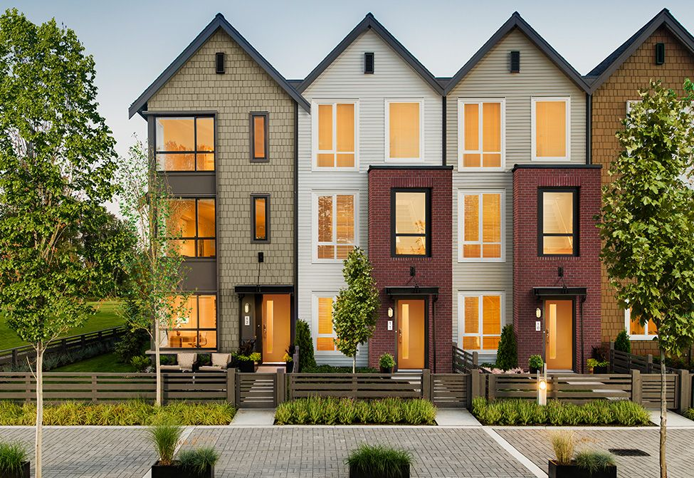 Coquitlam townhouse townhomes in coquitlam fremont for Townhouse exterior design