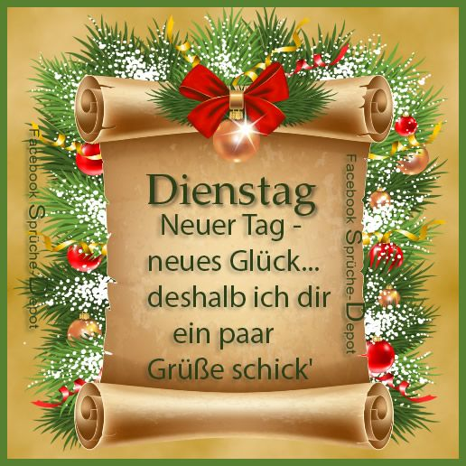 Dienstag Gb Pics Dienstag Grüße Lustige Weihnachten Und
