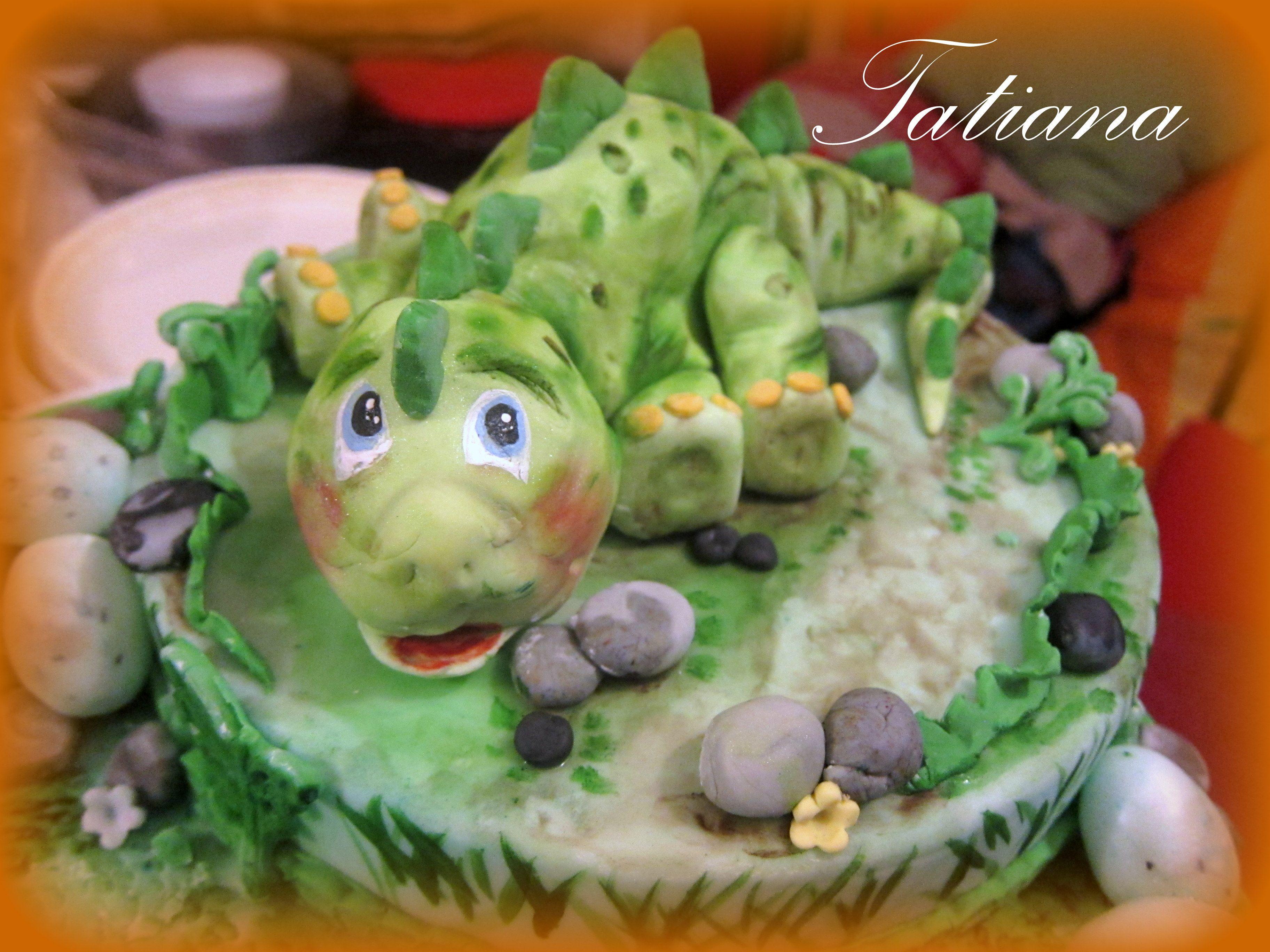 dinosauro cake