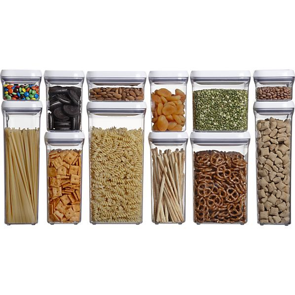 Oxo 174 Pop Containers Let S Get Organized Oxo Pop