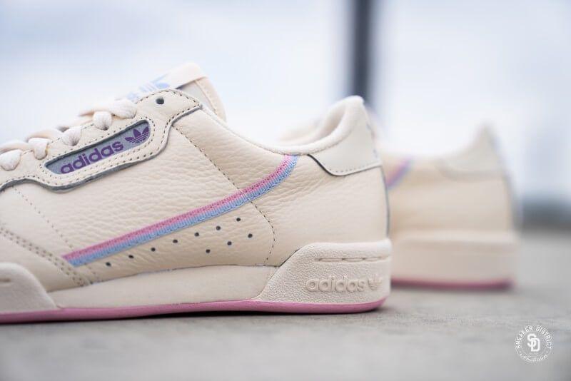 Continental 80 Ecru Tint/True Pink | Roze sneakers, Sneaker ...