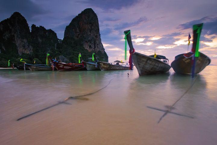 West Railay Beach Krabi Thailand