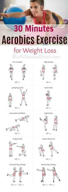 Photo of Aerobic Workout Routine zu Hause für Anfänger Kraft Gewichtsverlust und enthalten …