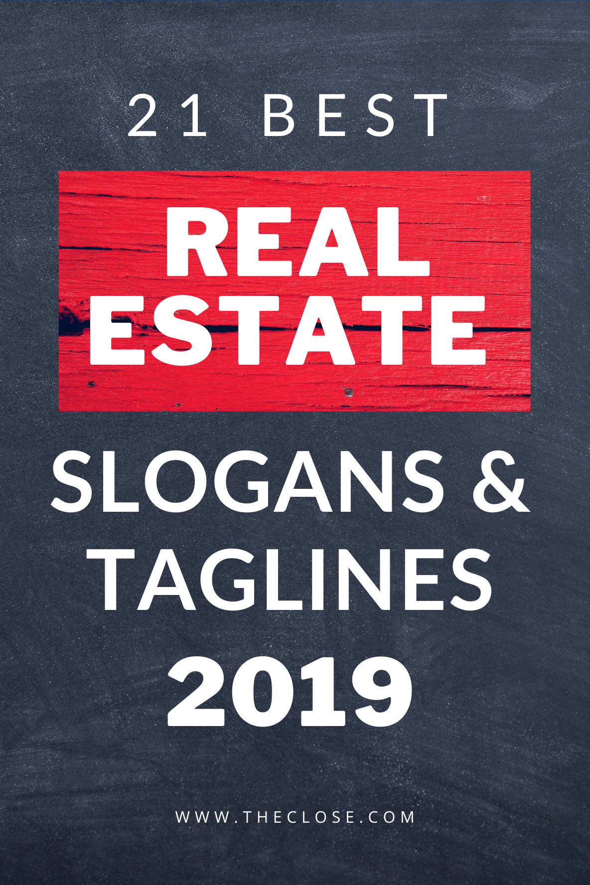 27 Best Real Estate Slogans Taglines 2020 The Close Real