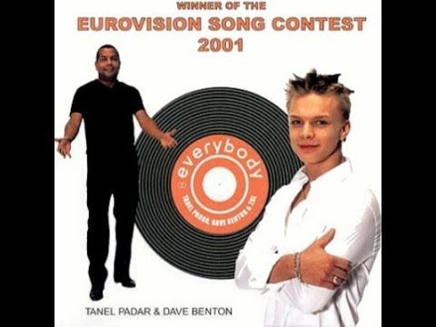 "TANEL PADAR & DAVE BENTON with 2XL performing ""EVERYBODY""  Eurovision Song Contest ~ 2001 Winner [HD]"