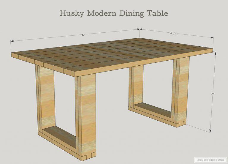 Husky Modern Dining Table Diy Dining Table Diy Dining Modern Dining Table