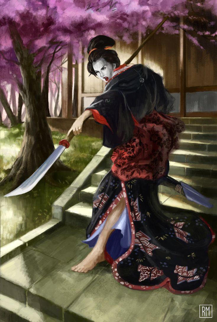 Onna Bugeisha por rodmendez #femalesamurai #martialarts