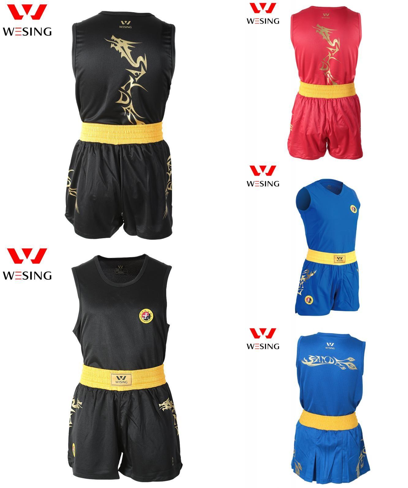 [Visit to Buy] WESING wushu sanda uniform kick boxing suit