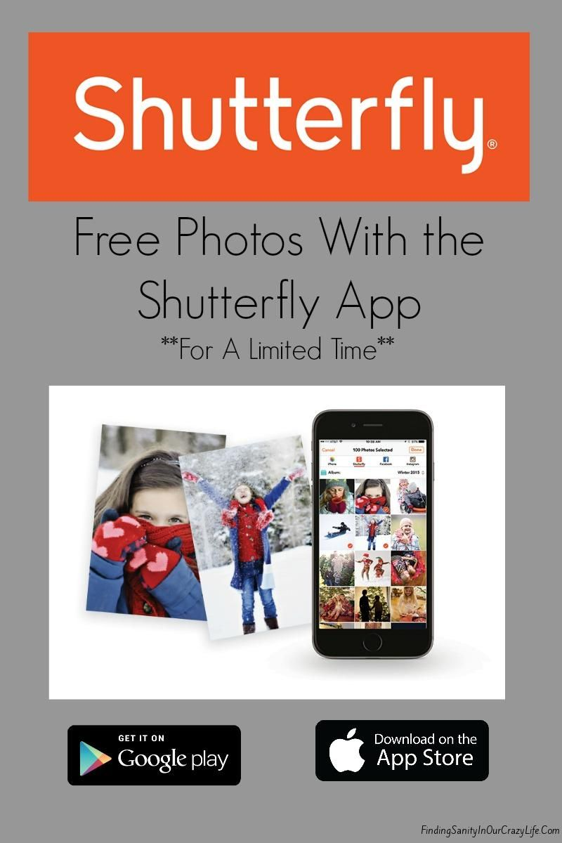 download the shutterfly app and get free photos app free and photos